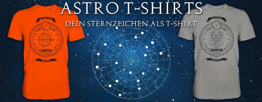 Sternzeichen T-Shirts